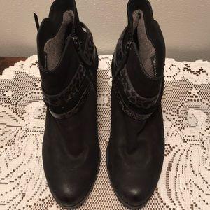 Tamaris Ankle Boots Sz 39 Black